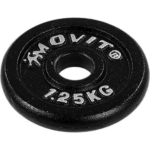 MOVIT® Gusseisen Kurzhantel 2er Set - 9