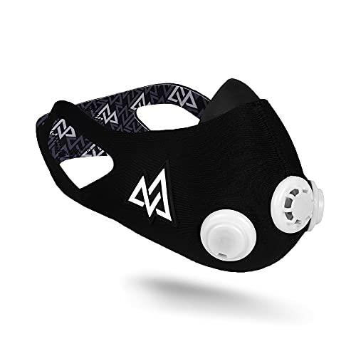 Elevation Training Mask Trainingshilfe Mas 2.0, schwarz, 70 - 110kg, 50-0151