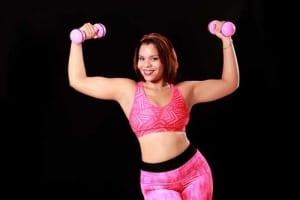 Für Anfänger und für ein Workout gut geeignet - die Gymnastikhanteln